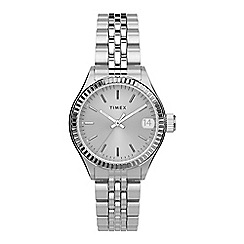 Juicy Couture - Ladies silver glitter dial bracelet watch