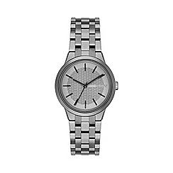 DKNY - Ladies gunmetal 'park slope' analogue watch