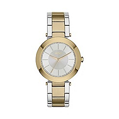 DKNY - Ladies two tone 'stanhope 2.0' watch ny2334