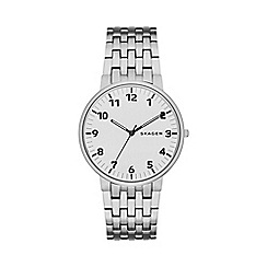 Skagen - Gents silver 'Ancher' watch