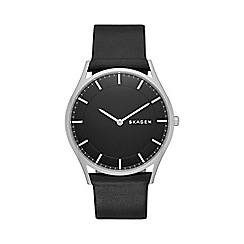 Skagen - Gents black 'Holst' watch skw6220