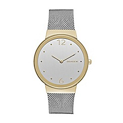 Skagen - Ladies silver 'Freja' watch