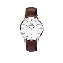 Daniel Wellington - Gents silver 'Bristol' watch