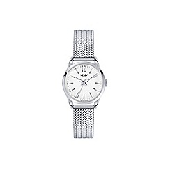 Henry London - Ladies silver 'Edgware' bracelet watch