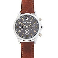 RJR.John Rocha - Tan mock chronograph watch