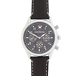 RJR.John Rocha - Black mock chronograph watch