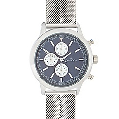 RJR.John Rocha - Men's silver stainless steel analogue watch
