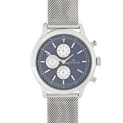 RJR.John Rocha - Men's silver stainless steel analogue watch