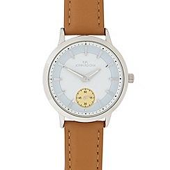 RJR.John Rocha - Ladies tan leather analogue watch