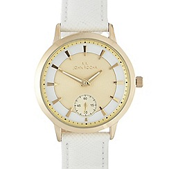 RJR.John Rocha - Ladies white RJR.John Rocha watch