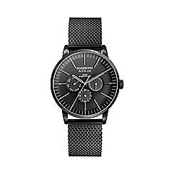 Hammond & Co. by Patrick Grant - Men's black multi-function watch