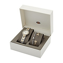 Fossil - Ladies watch and bracelet gift set