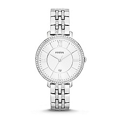 Fossil - Ladies silver bracelet watch es3545