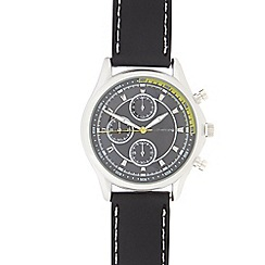 Red Herring - Men's silver mock multi dial watch