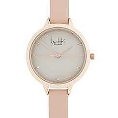 Principles by Ben de Lisi - Ladies' pink and rose gold double length second hand watch