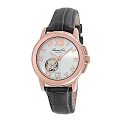 Kenneth Cole - Ladies grey automatic strap watch