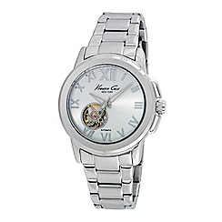 Kenneth Cole - Ladies silver automatic bracelet watch