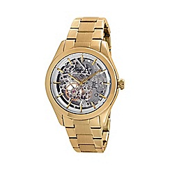 Kenneth Cole - Ladies gold automatic bracelet watch