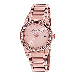 Kenneth Cole - Ladies rose gold bracelet watch
