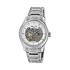 Kenneth Cole - Men's silver automatic bracelet watch