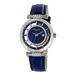 Kenneth Cole - Ladies blue strap watch