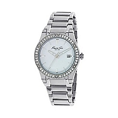 Kenneth Cole - Ladies silver bracelet watch