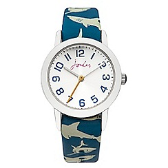 Joules - Boys interchangeable strap watch plain/shark