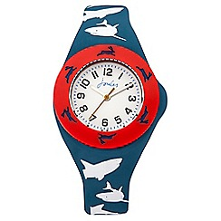 Joules - Boys shark pop out watch set