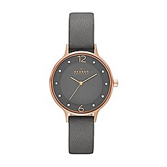 Skagen - Ladies grey strap watch