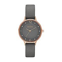 Skagen - Ladies grey strap watch
