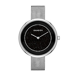 Skagen - Ladies silver mesh strap watch