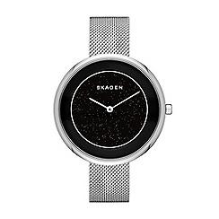 Skagen - Ladies silver mesh strap watch
