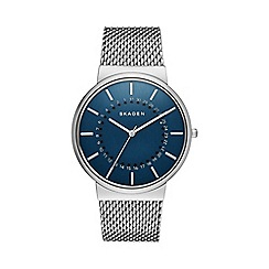 Skagen - Gents grey mesh strap watch