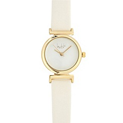 Principles by Ben de Lisi - Ladies white analogue watch