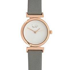 Principles by Ben de Lisi - Ladies grey analogue watch