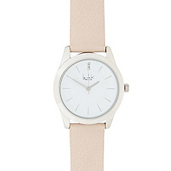 Principles by Ben de Lisi - Ladies cream and silver concave watch