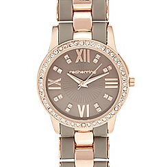 Red Herring - Rose gold bracelet analogue watch
