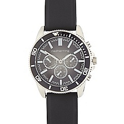 Red Herring - Men's black multi dial watch