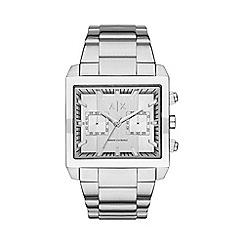 Armani Exchange - Men's silver chronograph bracelet watch ax2223