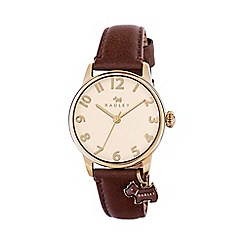 Radley - Ladies tan 'Blair' leather strap watch