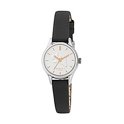 Radley - Ladies black leather strap watch