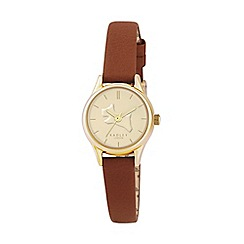 Radley - Ladies tan leather strap watch