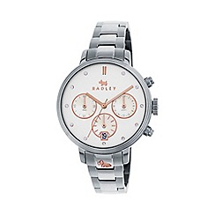 Radley - Ladies silver 'Battersea' chronograph bracelet watch