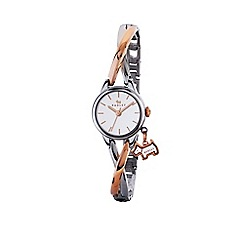 Radley - Ladies silver and rose gold 'Bayer' bracelet watch