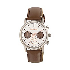 Kahuna - Ladies marsupial strap chronograph watch