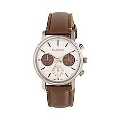 Kahuna - Ladies marsupial strap chronograph watch kls-0318l