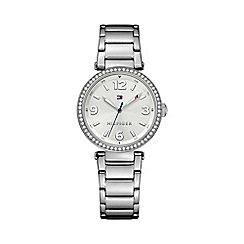 Tommy Hilfiger - Ladies stainless steel bracelet 'Lynn' watch with crystal bazel