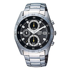Lorus - Men's silver chronograph dial bracelet watch