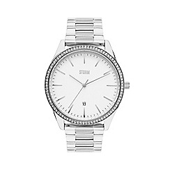 STORM - Ladies silver 'Crystalex' watch