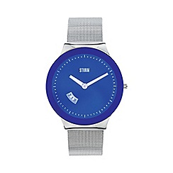 STORM - Men's blue glass dial watch